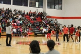 The Dance Club battled several teachers in a dance-off during halftime.