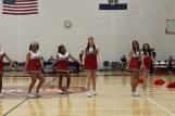 The cheerleaders looked fierce in their last appearance of the 2014-2015 school year.