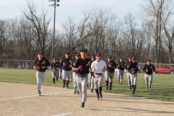 The AV baseball team have a record of ______ so far this season.